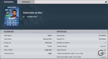 FIFA 14 TOTY: Dani Alves