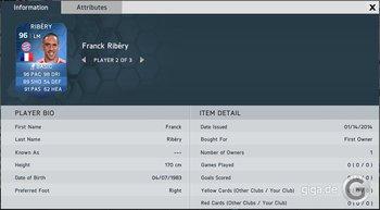 FIFA 14 TOTY: Franck Ribery