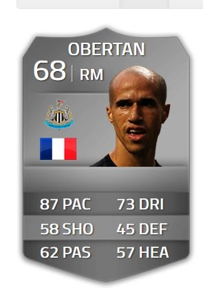 ZM: Gabriel Obertan (Newcastle United)