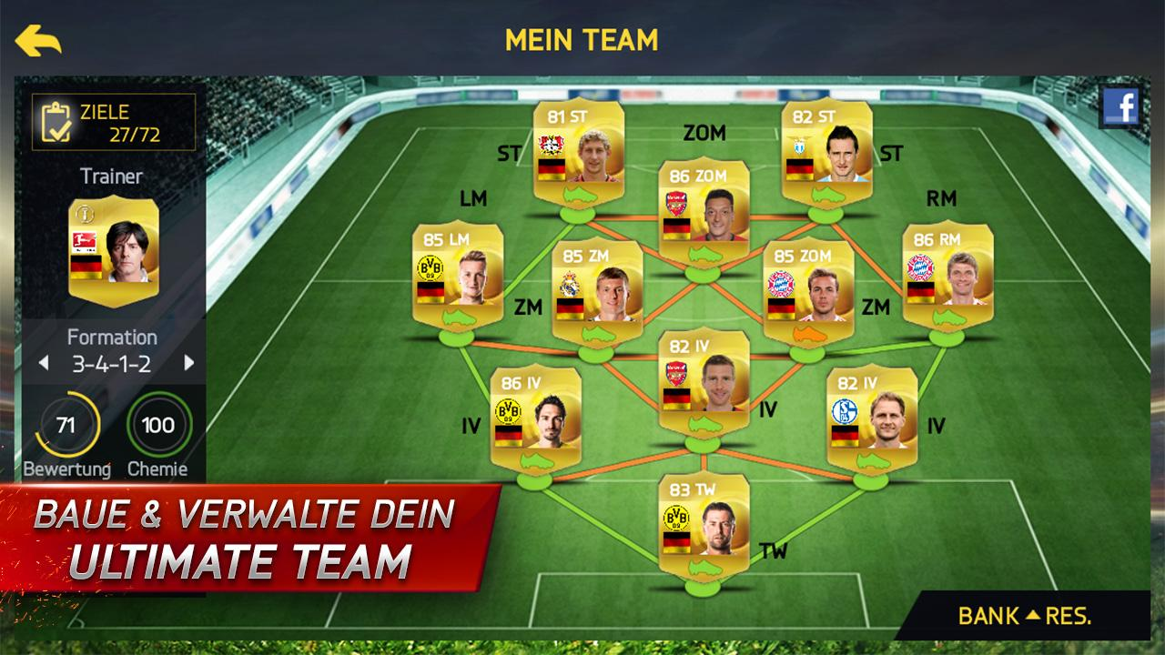 Fifa 15 ultimate team giga android app