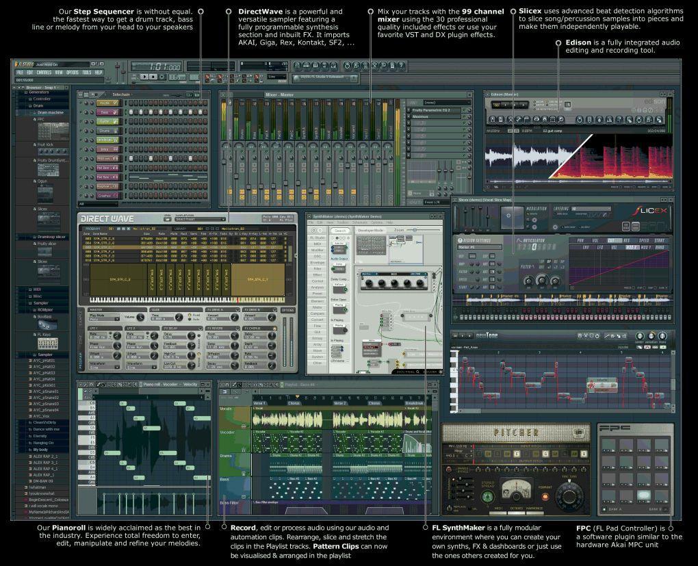Fl studio микрофон 4