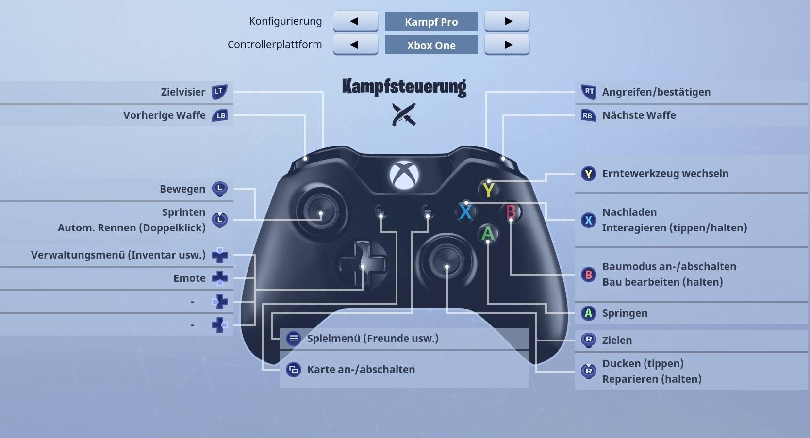 Fortnite Br Steuerung Fur Pc Ps4 Und Xbox Erklart Giga
