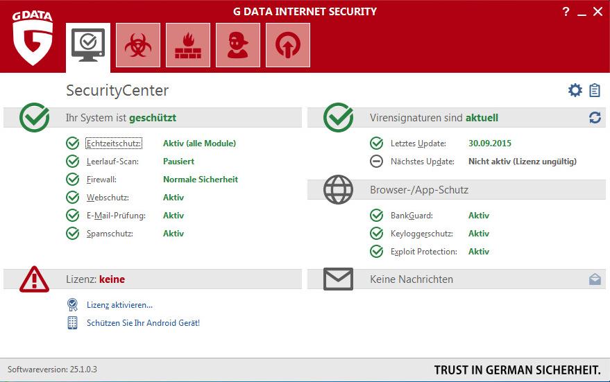 G Data Internet Security Download – GIGA