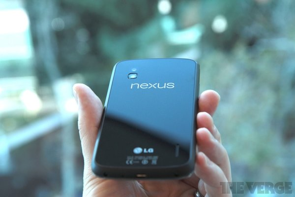 Nexus 4 by the Verge