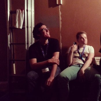 Backstage Boys #gamescom http://t.co/hZAPRhffLb