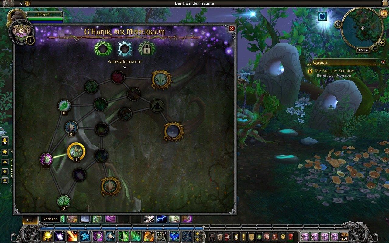 World Of Warcraft Legion Ghanir Der Mutterbaum Die