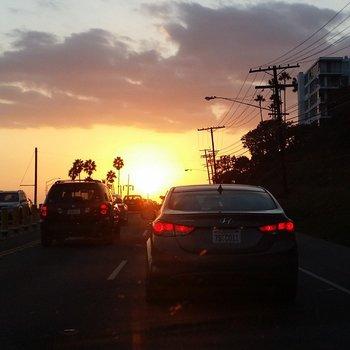Könnte man sich dran gewöhnen.  #GIGAinLA #LosAngeles #LA #nofilter #sunset http://t.co/16bRfzJKf5