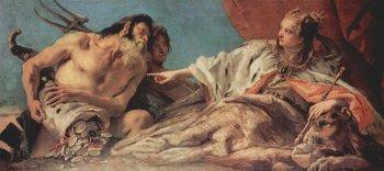 Neptun bietet Venedig Geschenke dar