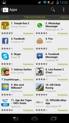 Android Play Store 2