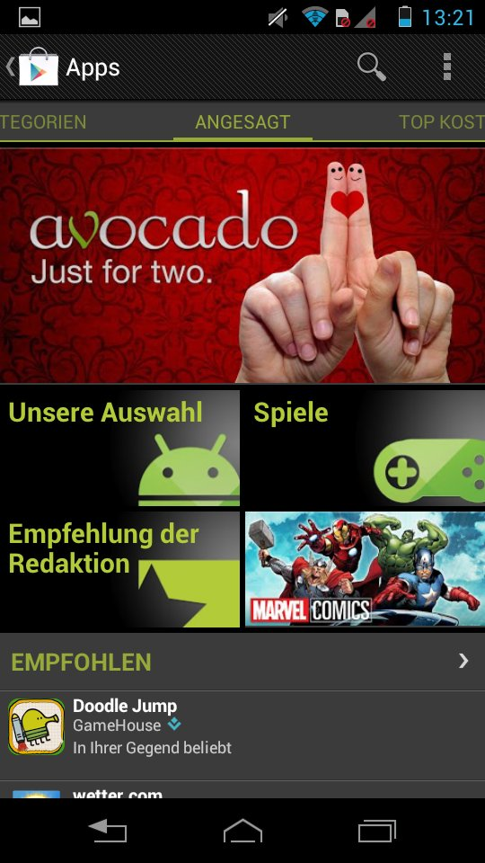 Android Play Store 5