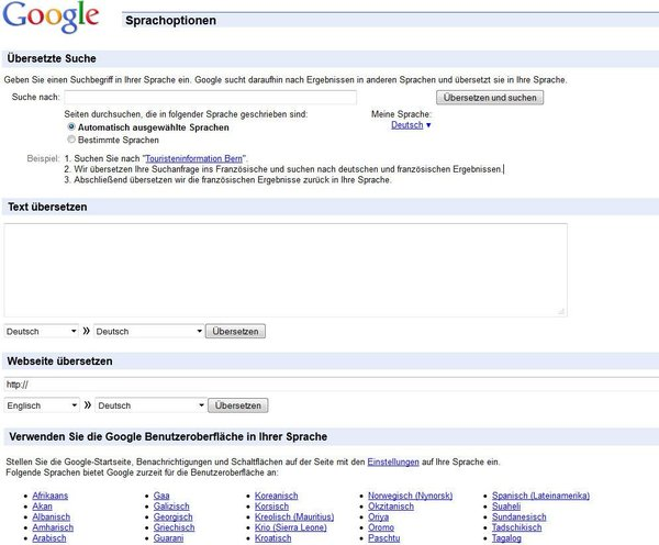 download-google-sprach-tools-screenshot