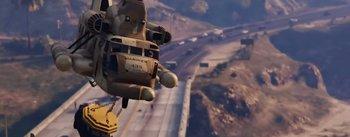 unbestätigter Hubschrauber