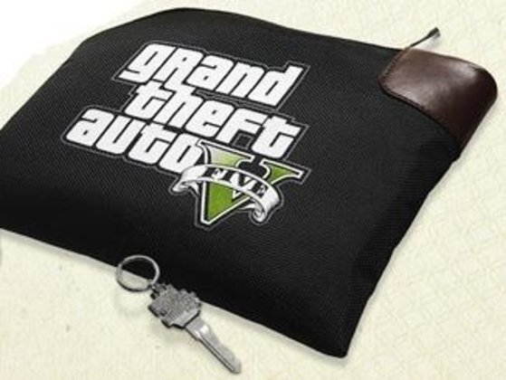 GTA V Collector's Edition - Banktasche