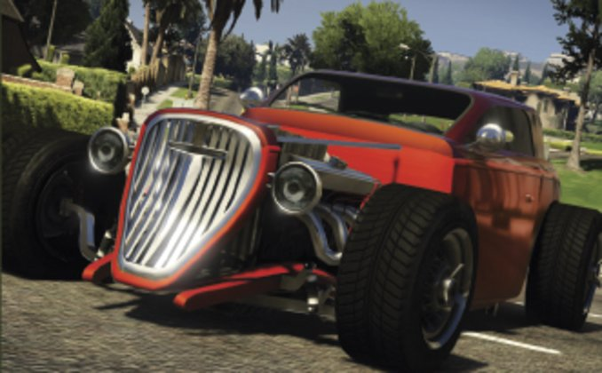 GTA V Collector's Edition - Hotknife Hotrod