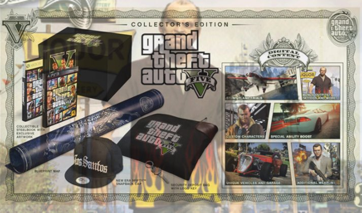 GTA V Collector's Edition