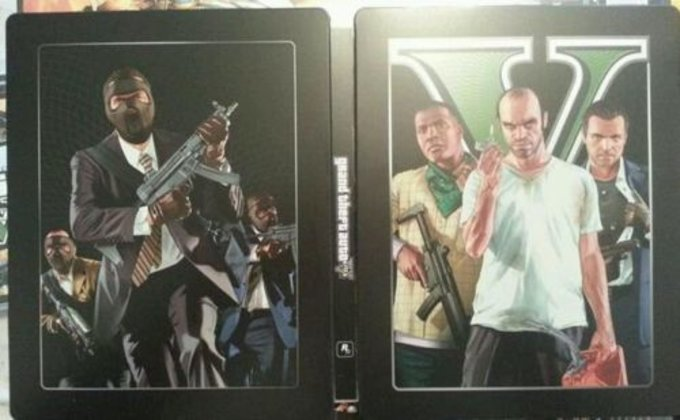 GTA V Collector's Edition - Steelbook
