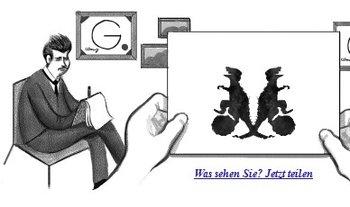 Rorschachtest - im Google Doodle