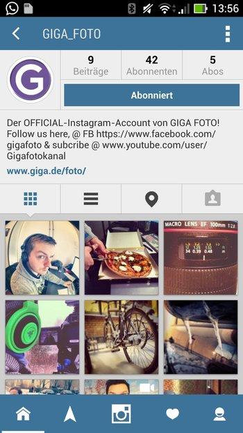 Holo-Design für Instagram