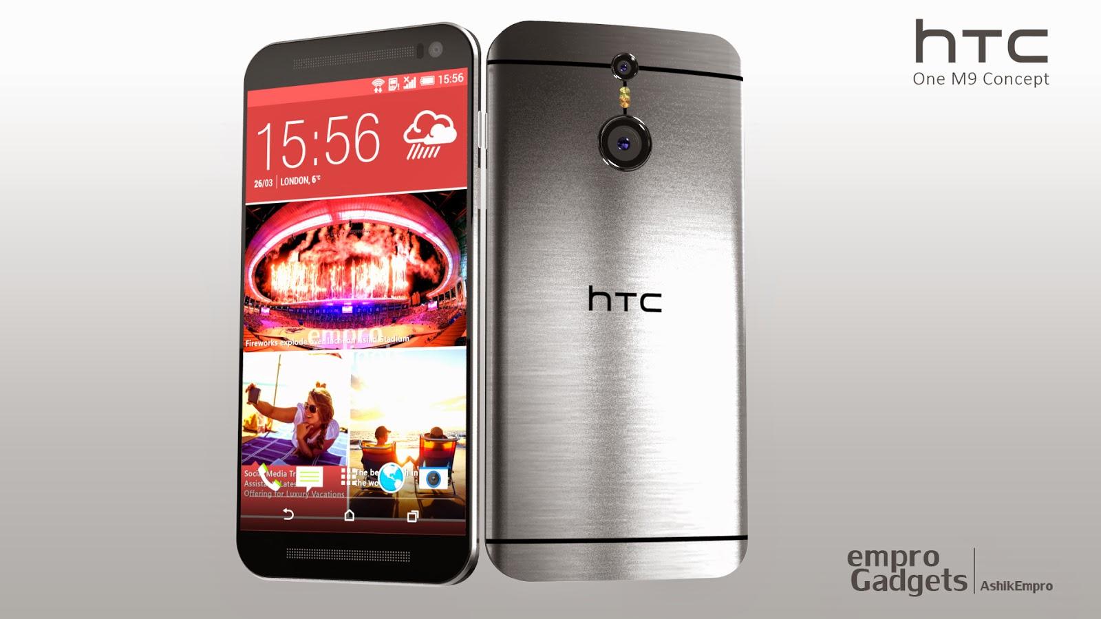 HTC ONE M9: Vier sch��ne Konzepte ��� GIGA