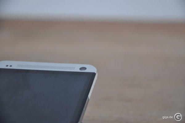 HTC One Spaltmaße - An den Seiten gibt es nix zu meckern