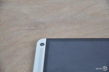 HTC One Spaltmaße - Kein Bezel zu sehen
