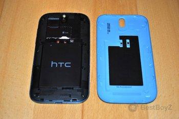 HTC One SV mit Akkudeckel