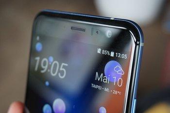 HTC U11: Hörmuschel und Lautsprecher