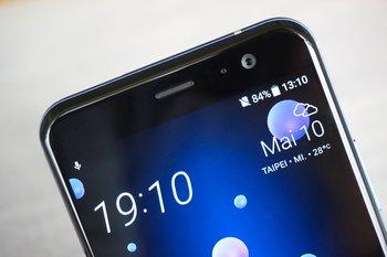 HTC U11: Detail Oberseite