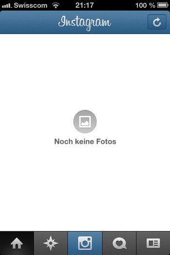 5. Instagramm registrieren