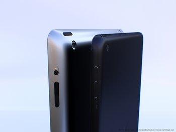 iPad 5 - Größenvergleich (Mockup)