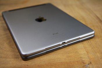 iPad Air 2 (oben) - iPad Air 1 (unten)