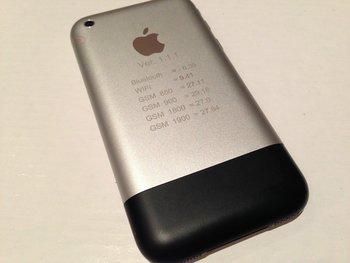 iPhone Prototyp Rückseite