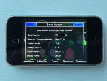 iPhone Prototyp Software