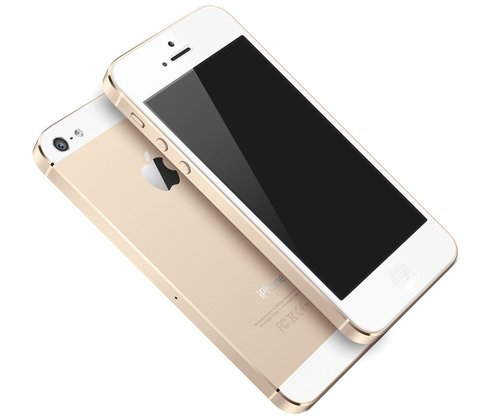 "iPhone 5S ""Champagner"""