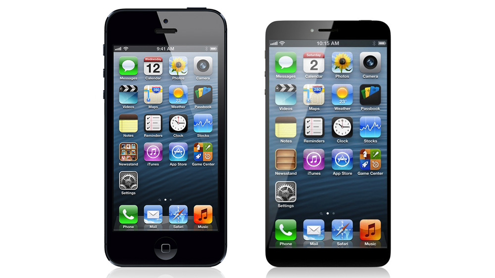 iphone 6 sehenswertes design konzept mit 4 5 zoll display ohne homebutton giga. Black Bedroom Furniture Sets. Home Design Ideas