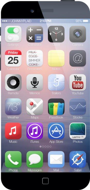 iPhone 6 Konzept