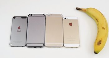 iPhone 6 vs iPhone 5s vs iPod touch