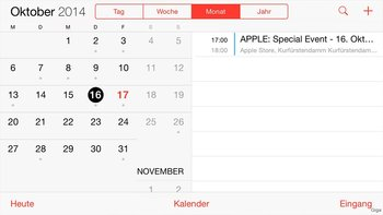 Querformat Kalender