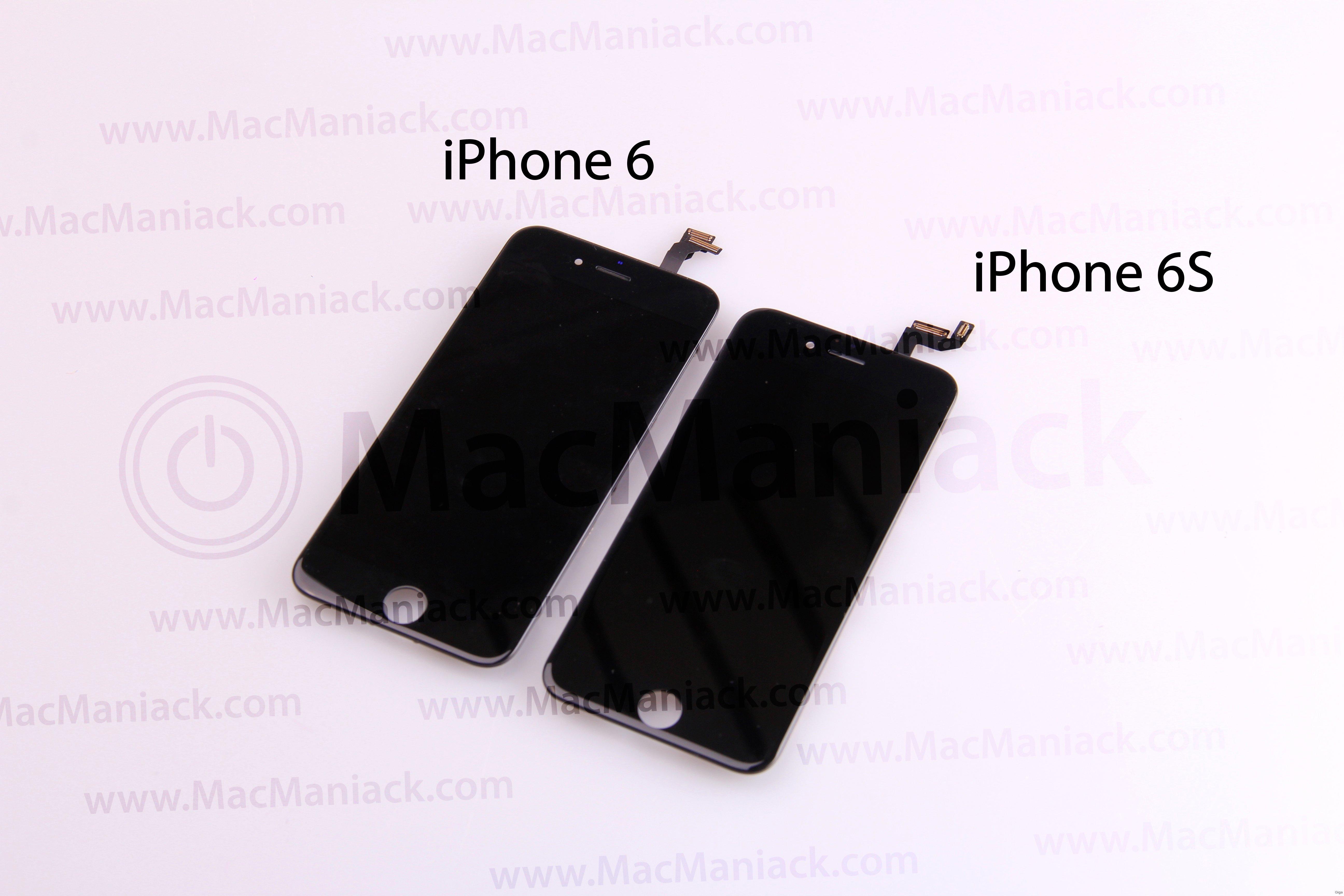 iphone 6s vs iphone 6 videovergleich der beiden displays giga. Black Bedroom Furniture Sets. Home Design Ideas