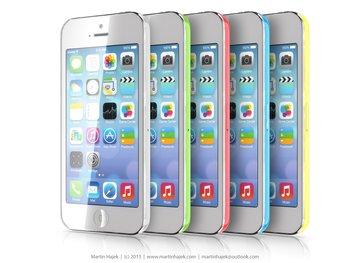 "iPhone \""Lite\"" - Rendering: Martin Hajek"