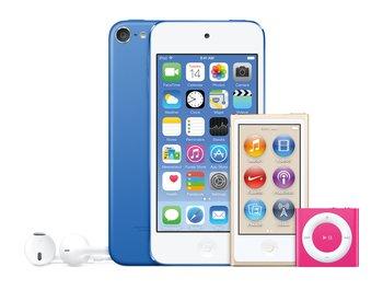 iPod Lineup 2015