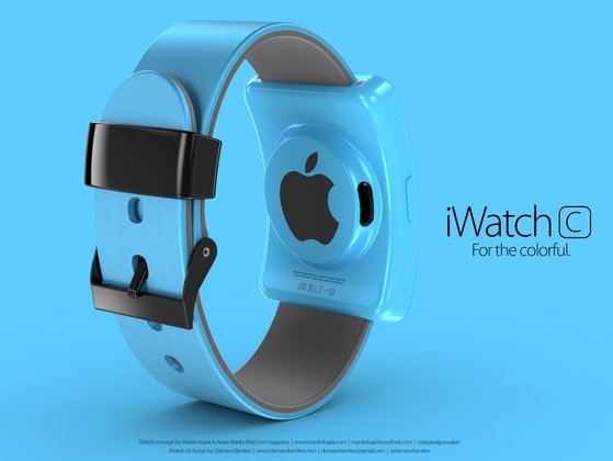iWatch Mock-up von Martin Hajek