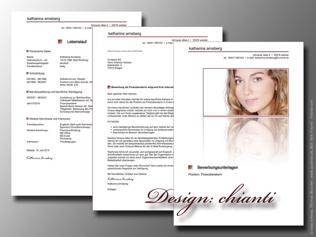 Kreative Bewerbung Schreiben Download Giga