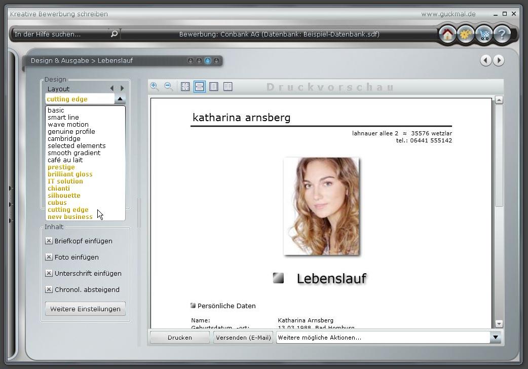 10 bilder - Bewerbung Software
