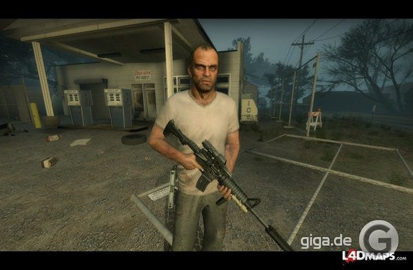 Trevor Phillips (GTA 5) in L4D2