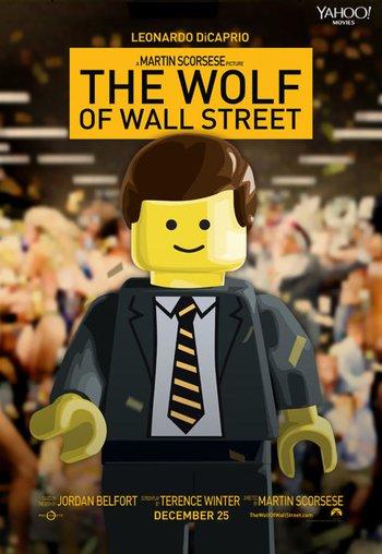 LEGO Wolf Of Wall Street