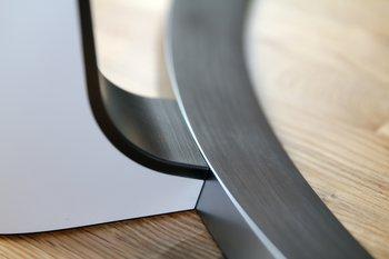 Metalloptik der Kunststoffteile