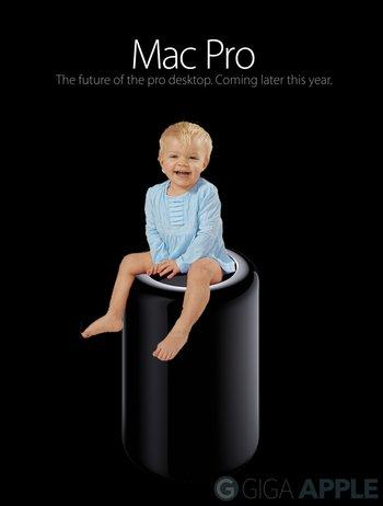 Mac Pro als Babyklo