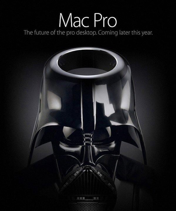 Darth Vader als Mac Pro