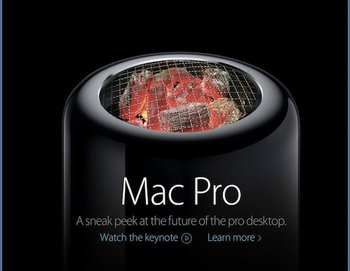 Mac Pro als Grill